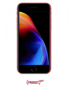 Apple iPhone 8 64GB, 4G LTE - Red (with FaceTime) front