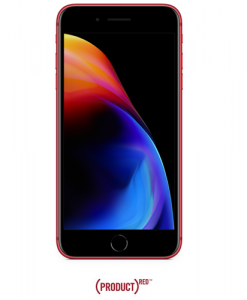 Apple iPhone 8 Plus 64GB, 4G LTE - Red (with FaceTime) front