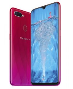 oppo f9 red
